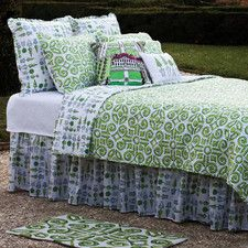 Boxwood Abby Cotton Quilt