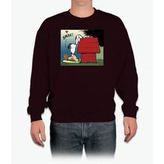 Snoopy Kiss Crewneck Sweatshirt