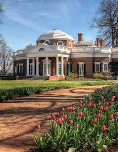 Thomas Jefferson's Monticello in Virginia.
