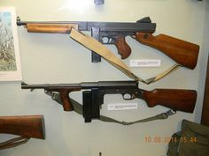 45th Infantry Division Museum Oklahoma City, Oklahoma M1A1 Thompson SMG United Defense UD42