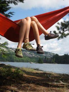 Hanging in the hammock! #KEEN #recess