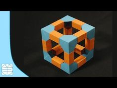 """How to do a Easy Paper """"Modular star of Vibrance"""" - Decorative Origami Tutorial - YouTube"""