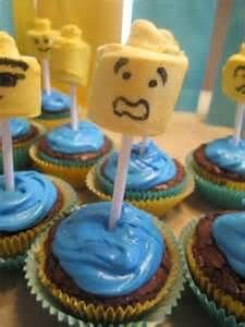 Image detail for -Lego Themed Cupcakes Boys Birthday Party Idea Lego Themed Party, Lego Birthday Party, 10th Birthday Parties, Birthday Ideas, Themed Cupcakes, Birthday Cupcakes, Cupcake Cakes, Cupcake Ideas, Cup Cakes