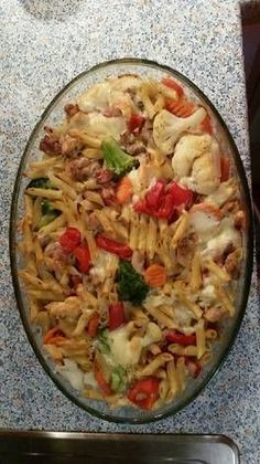 Chicken Cordon Bleu Pasta, Ital Food, Food Gallery, Donia, Light Recipes, Superfoods, Meat Recipes, Healthy Lifestyle, Cabbage
