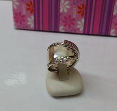 181 mm Besteckschmuck Silberbesteck Ring von BesteckschmuckBaron