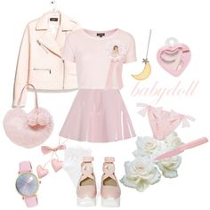 """""""Why not Pink"""" by ricehime on Polyvore"""