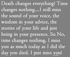 Can't help but think about how much my mom misses my dad after 51 years together.