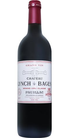 Pauillac wines chateau Lynch Bages 2006,