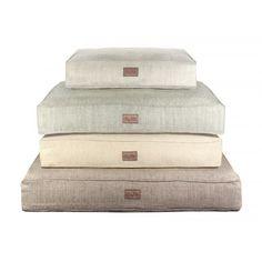 Harry Barker Tweed Linen Dog Bed
