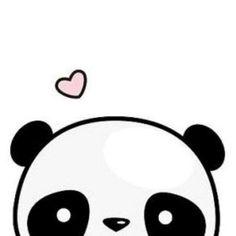 Panda💗 Cute Tumblr Wallpaper, Cute Panda Wallpaper, Panda Wallpapers, Cute Wallpapers, Art Of Zoo, Kawaii Panda, Cute Panda Drawing, Apple Logo Wallpaper Iphone, Panda Art