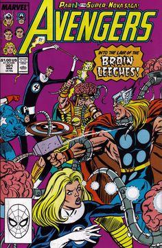 The Avengers #301, 1989