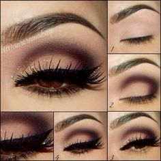If you would like enhance your eyes and increase your appearance, using the very best eye make-up ideas will help. You'll want to make sure you wear make-up that makes you start looking even more beautiful than you are already. Eye Makeup Designs, Eye Makeup Tips, Mac Makeup, Makeup Eyeshadow, Makeup Ideas, Makeup Tutorials, Makeup Pics, Eyeshadow Ideas, Makeup Brushes