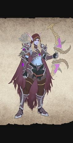 World Of Warcraft Game, Warcraft Art, New Fantasy, Fantasy Armor, Dnd Characters, Video Game Characters, Banshee Queen, Character Art, Character Design