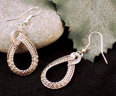 Such lovely Classic Twist Earrings; I would love to make them in copper also!