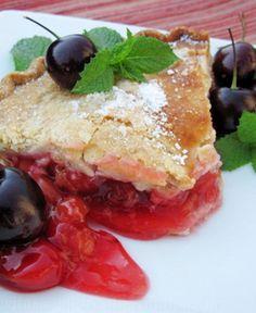 Tarte de Cereja | Cheries Pie #Portugal #Porto #Portoholidays