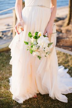 f0da8638769b Coastal Glamour: A Nautical Inspired Photo Shoot. Diy Wedding DressWedding  ...