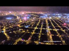 Flew my drone over the fireworks in Lima Peru