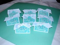 """""""Tiffany's"""" is the classic setting for anything bridal. The combination of the colors, """"Tiffany blue"""" with white and silver and the """"bling"""", make it all so girly. I've had the opportunity to be a part of helping to create several Breakfast at Tiffany's bridal showers. If you like this idea, here are some details you [...]"""