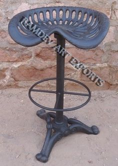 Vintage Indian Tractor Bar Chair