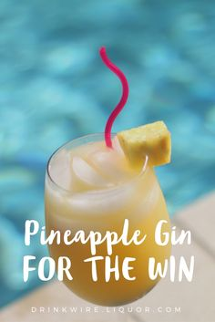 Summer is not complete until you have drank your new weapon to counter the heat. Just grab a bottle of gin and chop up a fresh pineapple! It's a tropical cocktail that's so simple, yet so delicious!