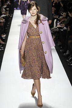 Michael Kors Collection Fall 2008 Ready-to-Wear Fashion Show - Carmen Kass, Noah Mills