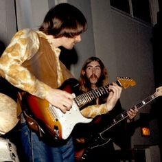 Dickey Betts and Berry Oakley.  #allmanbrothersband