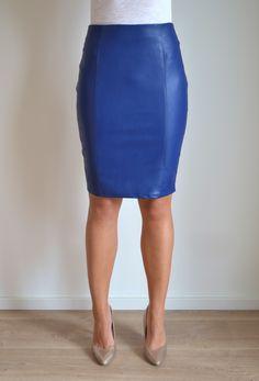 Yellow faux leather skirt I soravishing.com | Soravishing.com ...