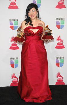 Ganadores del Latin Grammy 2012