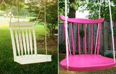 Wat maak je allemaal van een oude stoel?