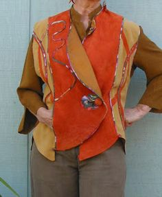 JillyBeJoyful: ReVisions Peony Vest