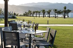 Located on the seafront overlooking the Cretan Sea, Kouzina offers unique culinary experiences for breakfast, lunch and dinner combining local recipes with a casual atmosphere. Family Resorts, All Inclusive Resorts, Hotels And Resorts, Lush Garden, Private Pool, The Locals, Stay Active, Crete Greece, Building