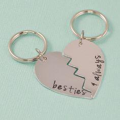 Besties Key Chain Set