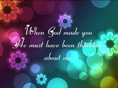 Beautiful world: I created you