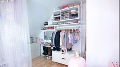 Closet/Craft/Vanity/Office/Studio Tour & DIY Backdrops | Dose of Lisa Pullano | Bloglovin'