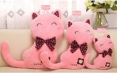 45 см/55 см новые творческие Cat кукла кот подушка кукла кошка плюшевые игрушки подарок на день рождения украшения подушки купить на AliExpress Cat Pillow, Hello Kitty, Birthday Gifts, Plush, Felt, Textiles, Dolls, Pillows, Creative