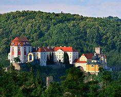 Vranov nad Dyjí Baroque castle (South Moravia), Czechia