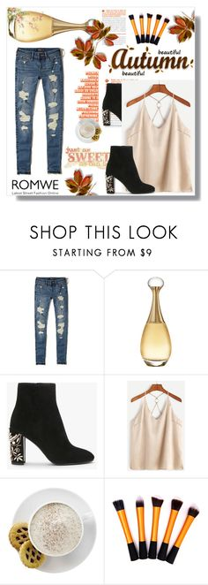 """""""romwe"""" by sejla15 ❤ liked on Polyvore featuring Hollister Co., Christian Dior and Mr. Coffee"""