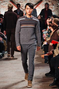 Missoni Fall 2012 Menswear Collection Slideshow on Style.com