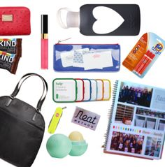 Essential items to have in your purse at all times! Tips from NEAT Method on the blog #organize #onthego
