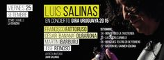 Anoche, 24 de setiembre de 2015, se presentó Luis Salinas en La Trastienda de Montevideo