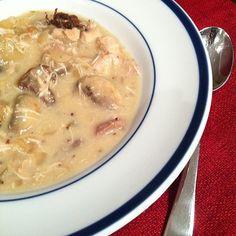 Creamy chicken stew!