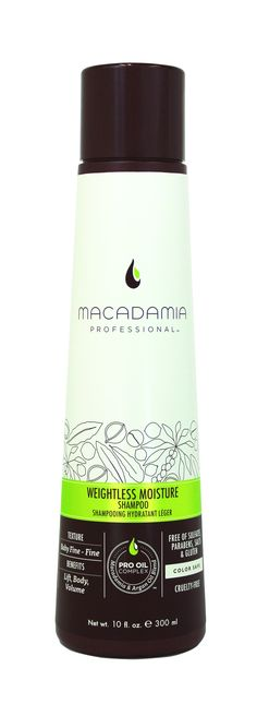 Macadamia Professional Weightless Moisture Shampoo 300ml.