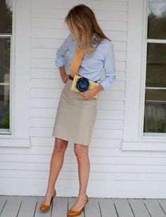 preppy fashion, women wearing neckties, women in ties