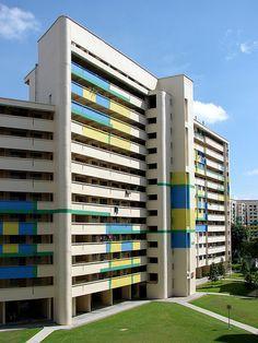 apartment building in Singapore