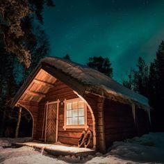 One room mountain cabin retreat