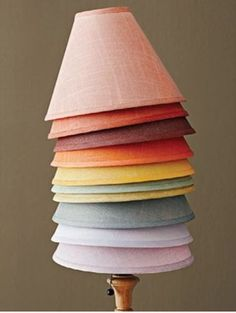 Colored Lamp Shade By LampShadeCentral On Etsy