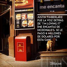 Justin Timberlake es la voz detrás de la canción de #McDonalds! | #Food #Comida