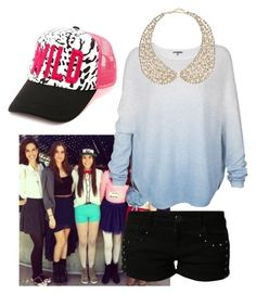 """""""Lauren Cimorelli Inspired #1"""" by owlaquamarine ❤ liked on Polyvore featuring moda, Charlotte Russe, even&odd, Vince e River Island"""