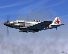 Mikoyan-Gurevich MiG-1/MiG-3; Piston Fighter (1941)