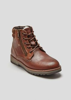 5fba52f7daa Boys Clothing Aged 8 - 16 Years. Boys Real Leather Boots ...